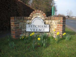 Fetcham village sign